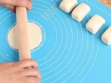 משטח 100% סיליקון לאפייה ללישה, רידוד והכנת הבצק