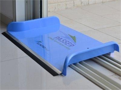 Passer  מעביר מים פטנט ישראלי !  מכשיר להעברת מים מעל המסילות