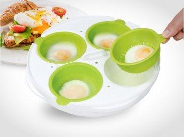פטנט להכנת ביצים עלומות וחביתות במיקרוגל 4 ביצים רק ב3 דקות !